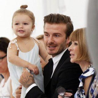 Harper Beckham, a divathét sztárja