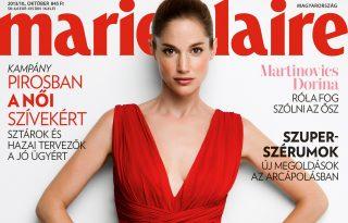 Martinovics Dorina az új címlaplányunk!