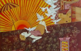 Festmények divatos vásznakon