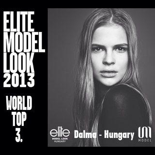 Magyar modell állt a dobogóra az Elite Model Look versenyen