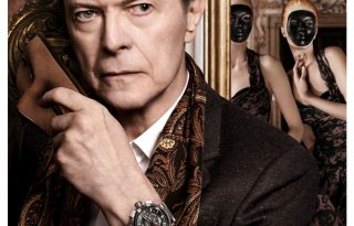David Bowie és a Louis Vuitton-álarcosbál