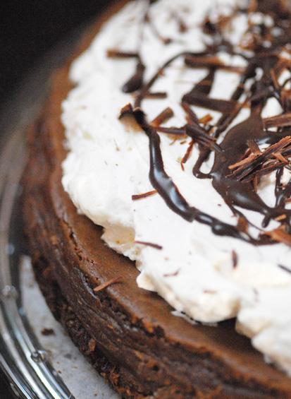 Totális bűnbeesés: csokis cheesecake