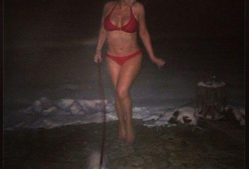 Mariah Carey: Aspenben bikiniben