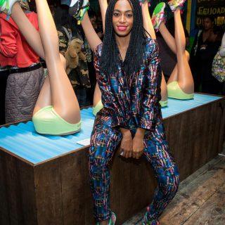 Beyoncé húga cipőt tervez