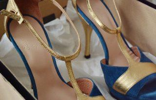 A stílusikon és a cipőkirálynő találkozása