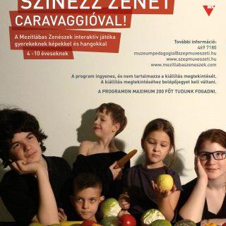 Színezz zenét Caravaggioval!