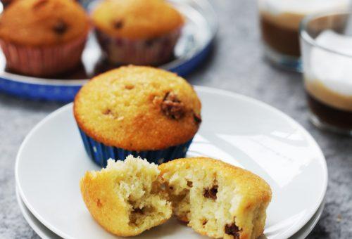 Édes szerda: kókuszos, csokis muffin