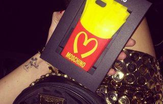 Moschino exkluzív mobiltokja