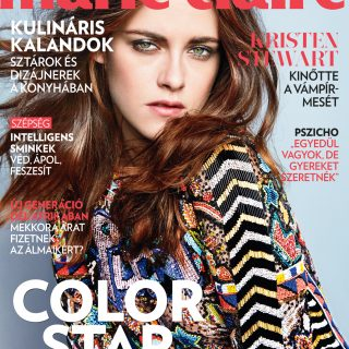 Kristen Stewart a magyar Marie Claire címlapján