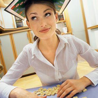 A női agy inkább szókirakót játszana