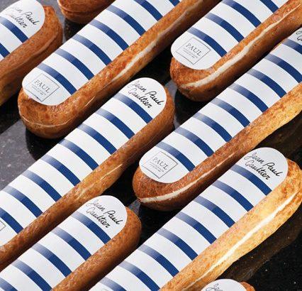 Limitált szériás Jean Paul Gaultier eclair fánk