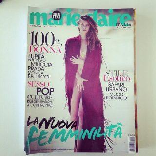 Palvin Barbi az olasz Marie Claire címlapján