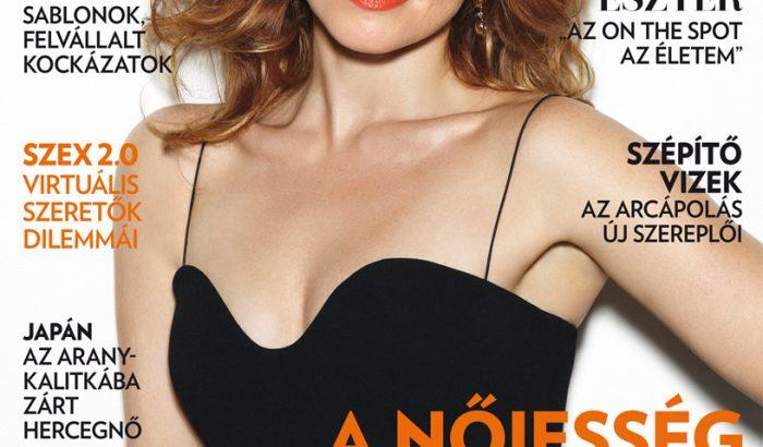 Cseke Eszter a júniusi Marie Claire címlapján