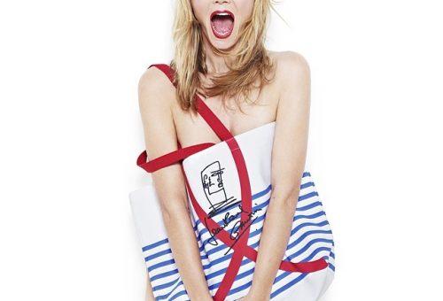 Heidi Klum és egy vászontáska