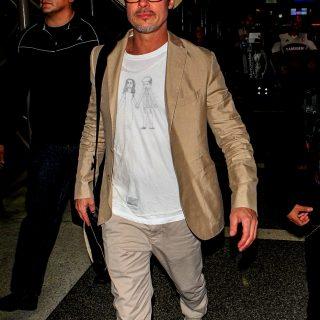 Brad Pitt igazi cuki, de stílusos apuka