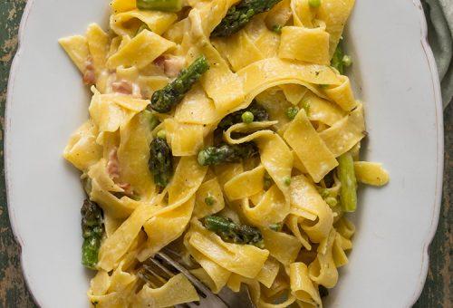 Készíts tökéletes carbonara spaghettit nyáriasan