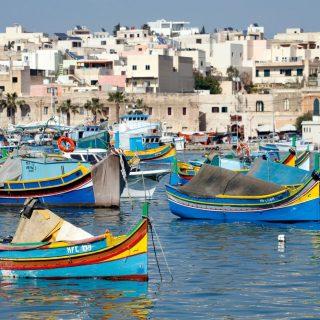Málta zöld szentélyei