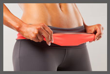 Beépített zsebes öv: alapdarab a futáshoz