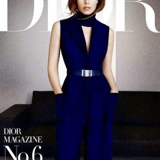 Jessica Biel a Dior Magazin címlapján