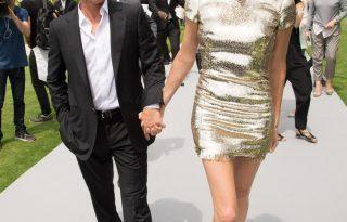 Charlize Theron, a párizsi Dior show szépe