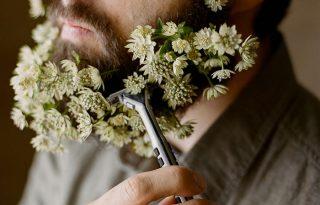 Új trend, a virágszakáll