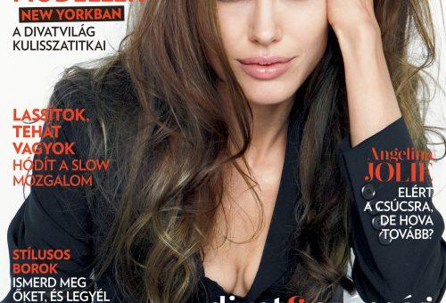 Itt a szeptemberi Marie Claire Angelina Jolie-val!