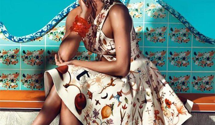 A legszebb orosz modell legújabb kampánya