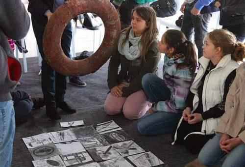 Művészetpedagógia hajón, gyerekeknek