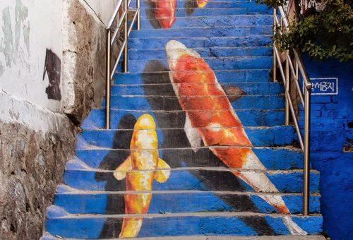 A világ legszebben díszített lépcsői