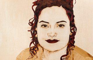 Intarzia portrék a Wood Arts-tól