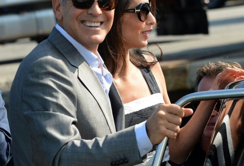 George Clooney papucsban is hódít