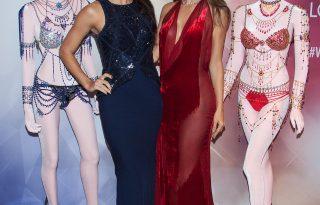 A Victoria's Secret angyalai bemutatták az új Fantasy Bra-t