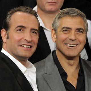 George Clooney, Jean Dujardin és egy csésze kávé