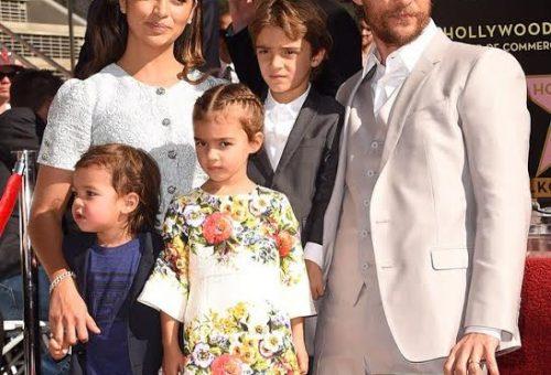 Matthew McConaughey csillagot kapott Hollywood-ban