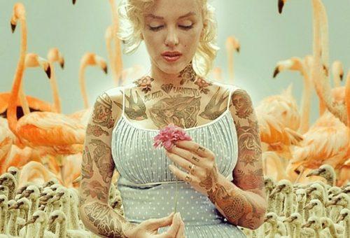 Ugyanúgy szeretnéd a tetovált Audrey Hepburnt is?