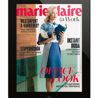 Ingyenes Marie Claire @Work iPad-alkalmazás