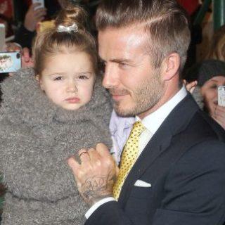 Kiakadtak a lányával szájrapuszizó David Beckhamtől