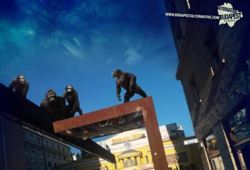 UFO-k, zombik és King Kong Budapesten