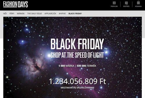 Fekete Péntek online – Az év legnagyobb karácsonyi vására nem ér véget