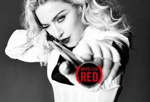 Madonna az AIDS ellen kampányol