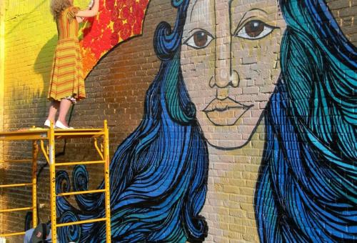 A 10 legmenőbb női street art művész