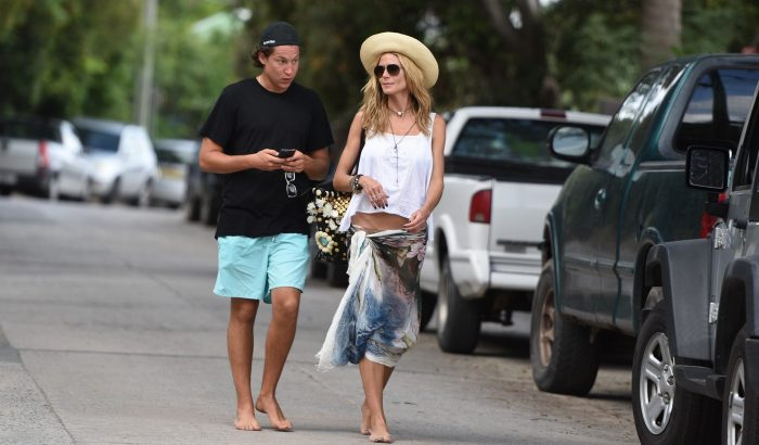 Heidi Klum romantikus nyaralása