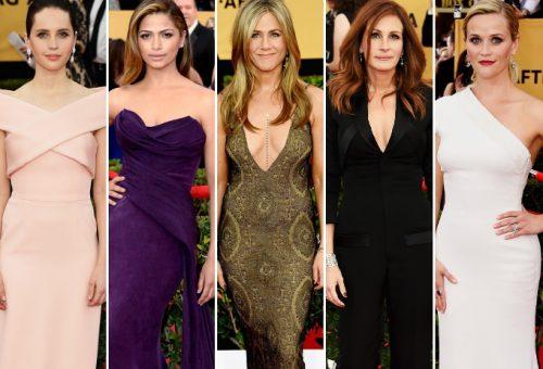 Az idei Screen Actor Guild Awards legmesésebb ruhái