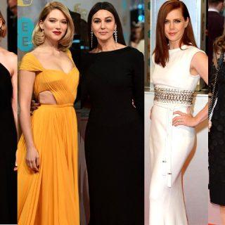 A 68. BAFTA-díjátadó legszebb ruhái