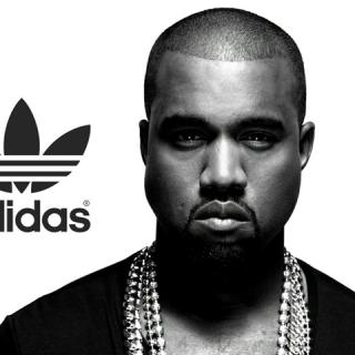 Kanye West az Adidasnak tervez cipőket