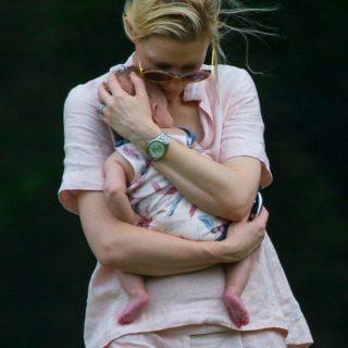 Exkluzív: Cate Blanchett és örökbefogadott kislánya, Edith