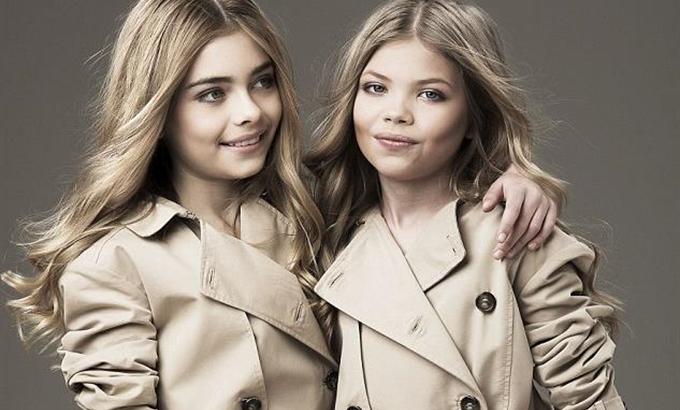 Gyerekmodellekkel fotózták újra a Burberry kampányait