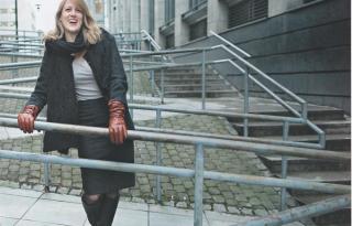 Helene Uri, népszerű norvég írónő Budapestre látogat