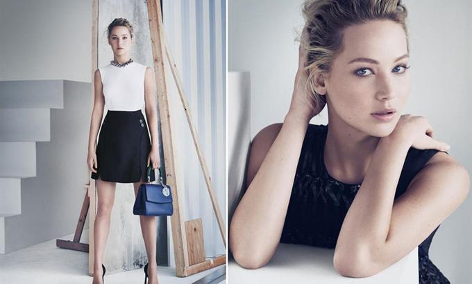 Jennifer Lawrence a Dior új arca