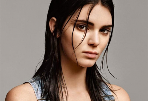 Kendall Jenner lett a Calvin Klein arca